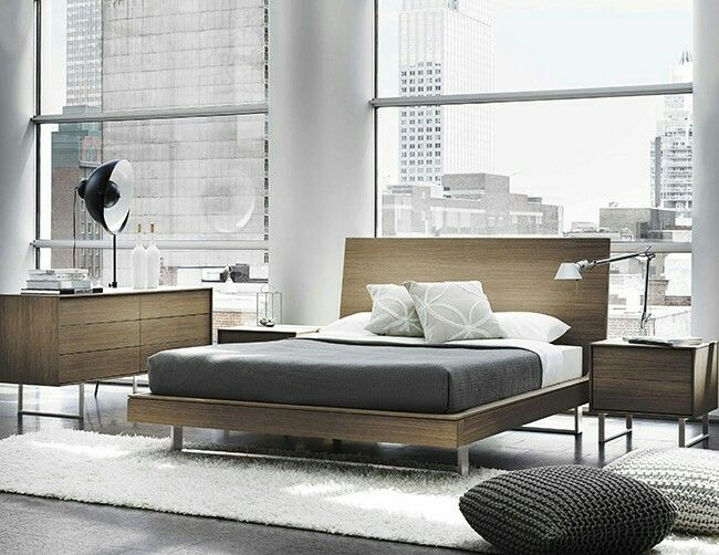Clean  sleek and contemporary  the new Ophelia bedroom collection features  matte white oak accented with steel legs and optional lacquer accents. 42 best Contemporary Bedroom images on Pinterest   Contemporary