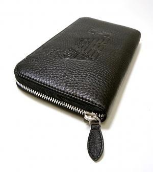 ハイブランドの革財布。アルマーニ エンポリオアルマーニの長財布