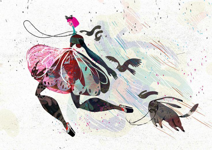 #artsy #instaartsy #mixedmedia #wacom #drawing #collage #illustrator #illustration #iuliaignatillustration #lmrignat #behancereviews #behance #drawingoftheday #artoftheday #illustagram #dorothy #wizardofoz #toto #story