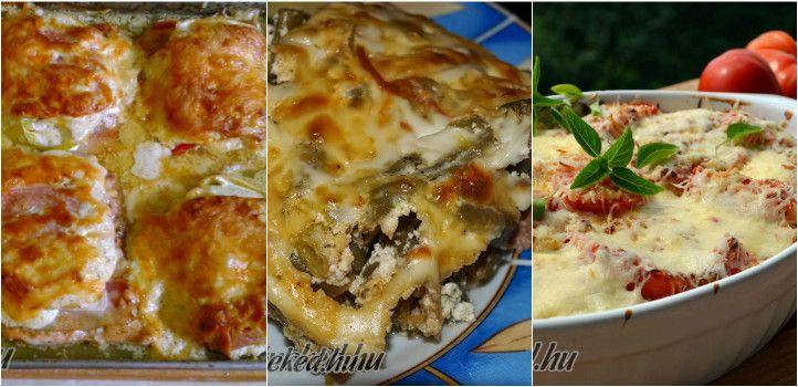 A szombati ebéd: 7 tökéletes tepsis egytálétel - Receptneked.hu - Kipróbált receptek képekkel