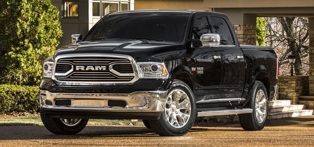 A new top-dog Ram Laramie Limited pickup made its debut at Chicago, showing the folks at Ram Truck aren't taking their stiff competition standing still.