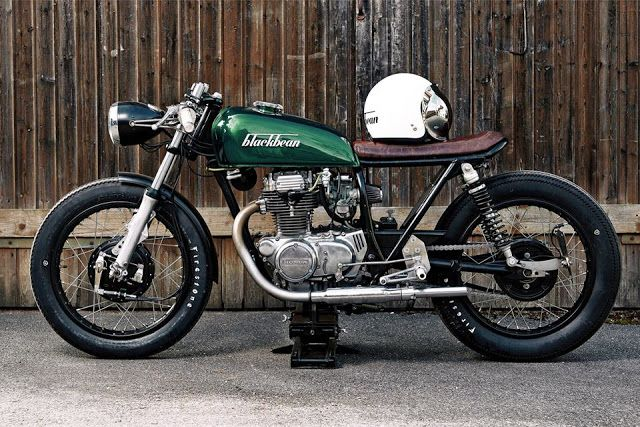 Honda CB250 Cafe Racer by Blackbean Motorcycles | www.caferacerpasion.com