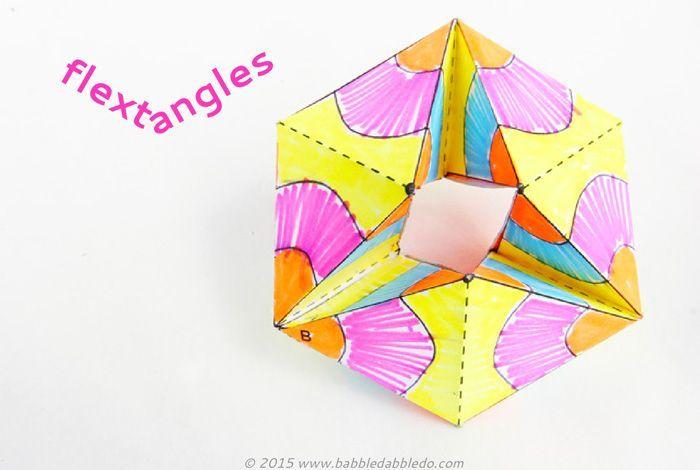 Paper Toy: Flextangles