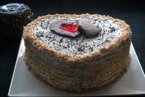 Pineapple Heart Cake/Tort inimioara cu ananas