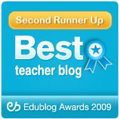Cool Cat Teacher Blog - award winning blog written by award winning teacher.  Focuses on technology in the classroom and connecting students to global issues and people.