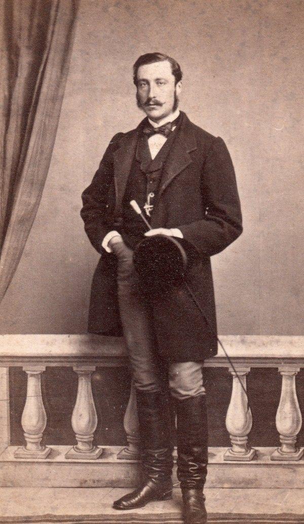 Portrait d'homme à la canne, 1867.