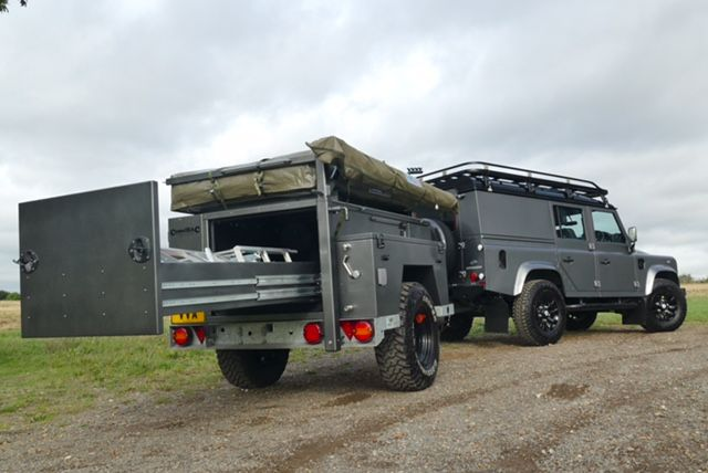 Our CamelBac Expedition Trailers are built to order at our Peterborough facility. Just like our long-standing bespoke vehicle program, every trailer is built to a very high standard and to each client's exact specification which, of course, we are only too happy to discuss with you to help and advise the best options available to suit your requirements. The main body is made out of high-grade aluminium sheeting that is folded and seam welded before being bolted together. This process…