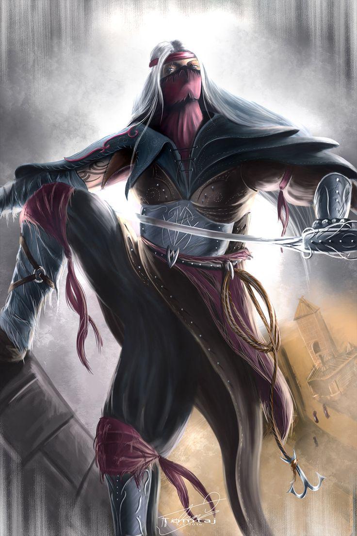 Assassin by Tomtaj1.deviantart.com on @DeviantArt
