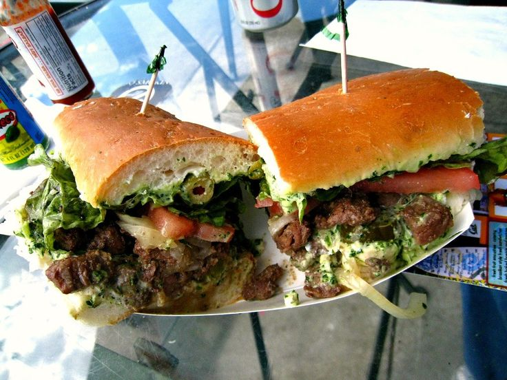 Pedro's Brazil Cafe in Berkeley, Pedro's favorite tri-tip sandwich.