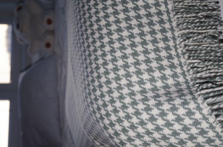 Luxusná deka z merina pepito – aqua | PODDEKOU