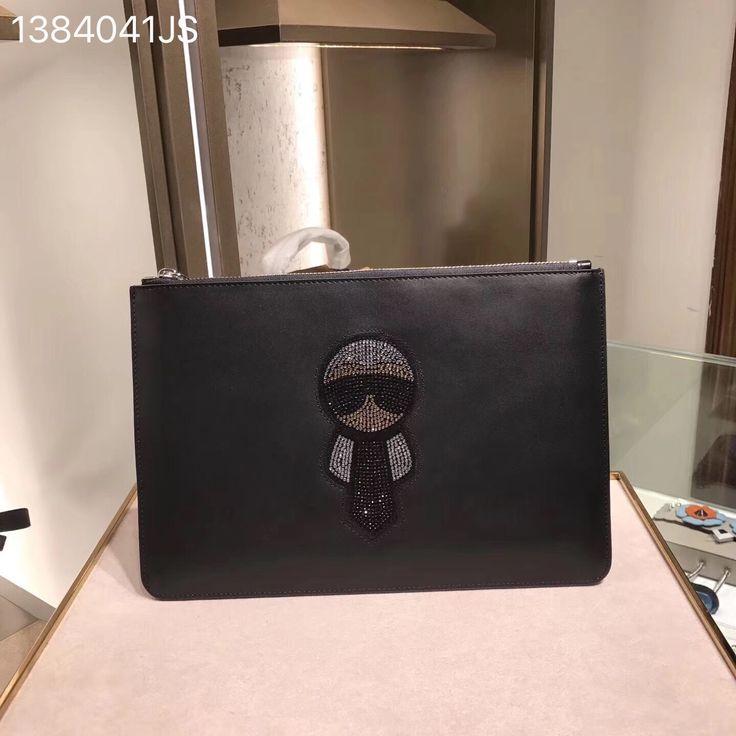 Fendi clutch original leather version