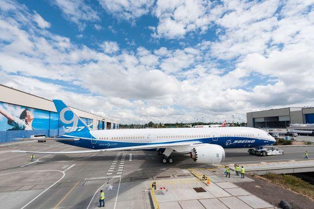 Boeing 787-9 Dreamliner Rolled Out Everett Aircraft Wallpaper 4024