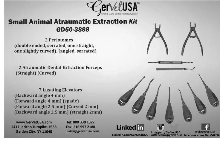 #Small Animal Atraumatic #Dental Extraction Kit