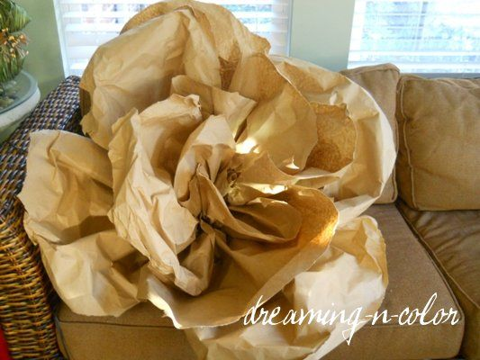 dreamingincolor: How to make Paper Flowers
