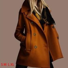 Thick Winter Wool Coat Women Plus Size Long Trench Coats Girls Outdoor Overcoat New Fashion Brand Women's winter Clothes