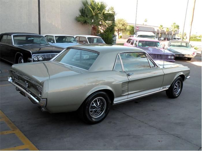Sauterne Gold 1967 Mustang Gt Gt Hardtop 1967 Mustang Mustang Gt Mustang