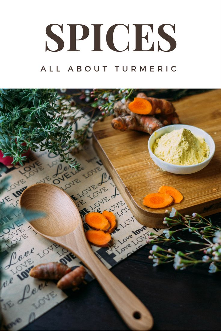 """Turmeric, or the """"Golden Spice"""" is great for your health! This post tells you all you need to know about this traditional spice and how to use it."""