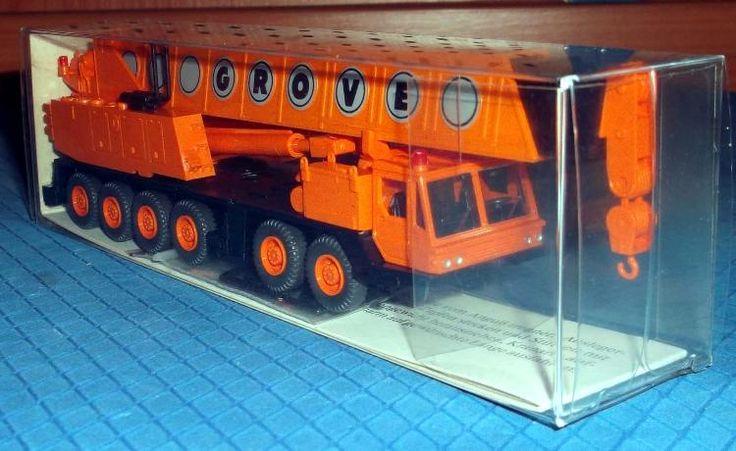 "632 40 Wiking-Modell ""Grove Auto Kran"" originalverpackt"