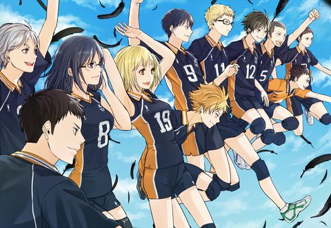 Haikyuu Karasuno Volleyball Team「HQ」/「シキユリ」のイラスト [pixiv]