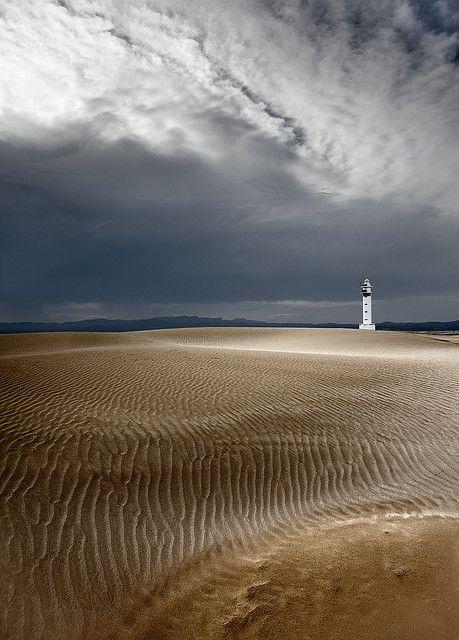Faro de Punta del Fangar, Delta del Ebro Cataluña