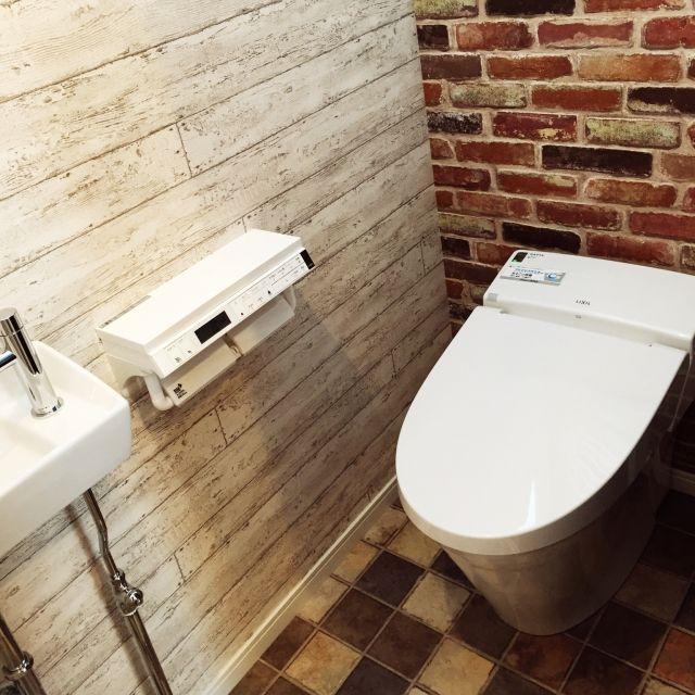 かわいいトイレの作り方、インテリアと収納アイデアまとめ   iemo[イエモ]