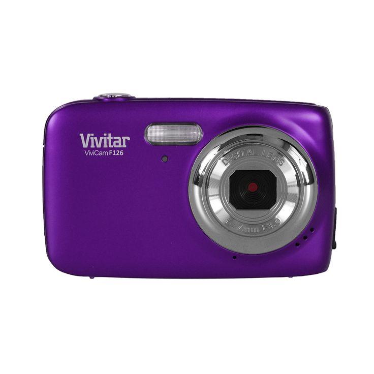 Il n'y a pas de période plus privilégiée dont on souhaite garder le plus de souvenirs que la période de la jeunesse. Cet appareil photo numérique violet 14,0 Mpx Vivitar est un cadeau magnifique à faire à votre enfant dont il vous remerciera longtemps. Il s'agit là d'un appareil photo de très bonne qualité. Il est doté d'un capteur de 14 Megapixels. Son écran est relativement grand puisqu'il fait 1.8 pouces. Il propose un zoom digital 4x. Pour éviter les photos ratées, un ...