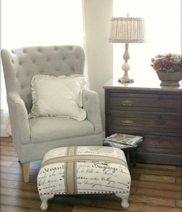 Комод и кресло для спальни в стиле прованс