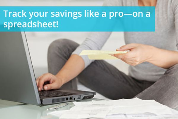 Track Your Coupon Savings with Spreadsheets!