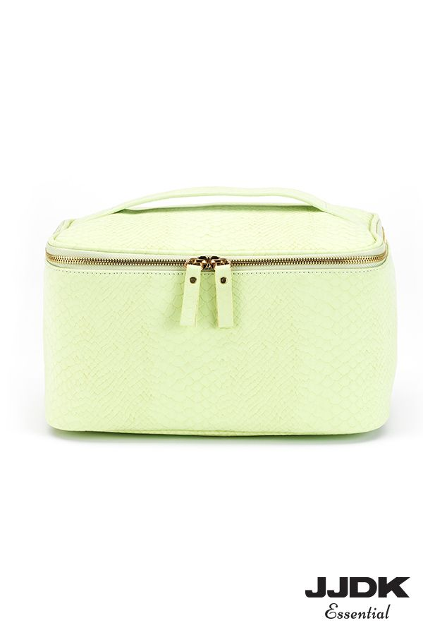JJDK Essential beauty box - Snake print combined with pastel green