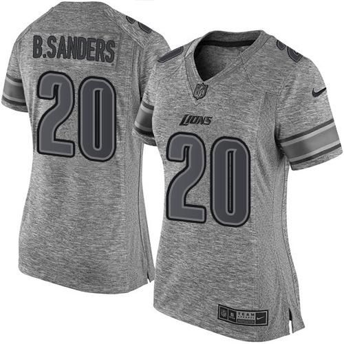 ... Nike Lions Barry Sanders Gray Womens Stitched NFL Limited Gridiron Gray  Jersey And Cowboys Jason Witten Womens Nike Dallas cowboys 4 Dak Prescott  ... 564807bc0
