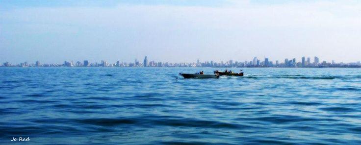Kuwait City, view from Failaka Island. Photo: Jo Rad