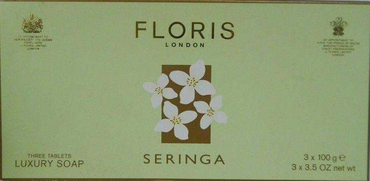 Floris London Luxury Soap set seringa, limes choose new #FlorisLondon
