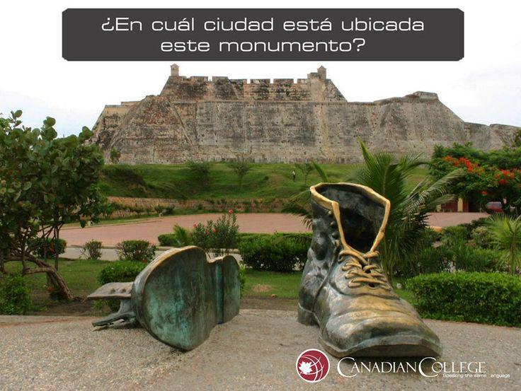 """Cartagena: El Monumento a los Zapatos Viejos es un homenaje a Luis Carlos López, uno de los más grandes poetas colombianos, y a su obra más popular; el poema """"A mi Ciudad Nativa""""."""