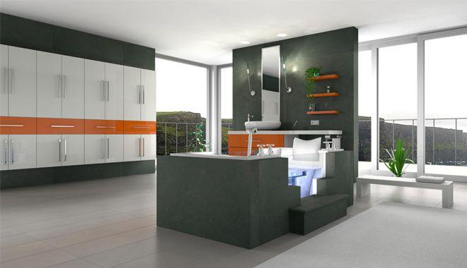 Projekt wnętrza wykonany w programie Palette CAD