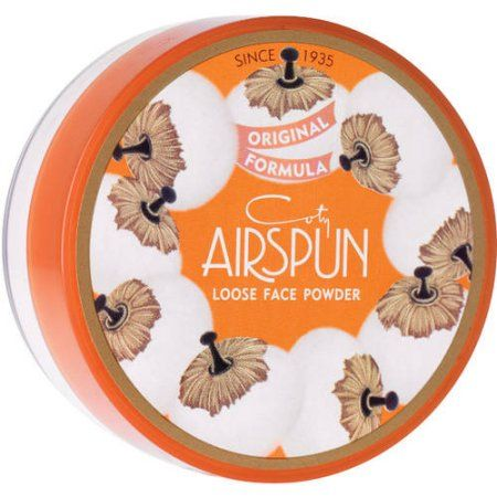 Coty Airspun Translucent  Loose Face Powder is just what i need to set my concealer and i love the scent. Only about $6!