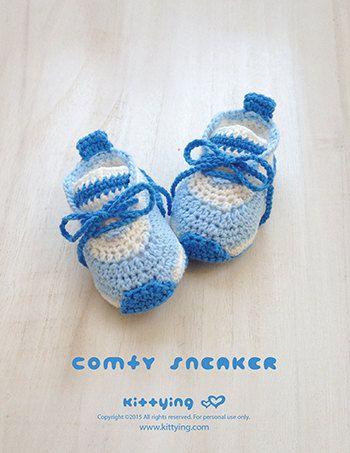 Crochet Preemie Pattern Comfy Preemie Sneakers Kittying Crochet Pattern by kittying.com from mulu.us