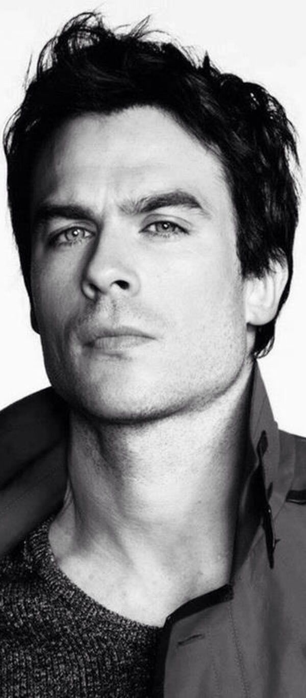 Ian Somerhalder (This boys is pretty, loves animals, and has amazing facial expressions. Nom.)