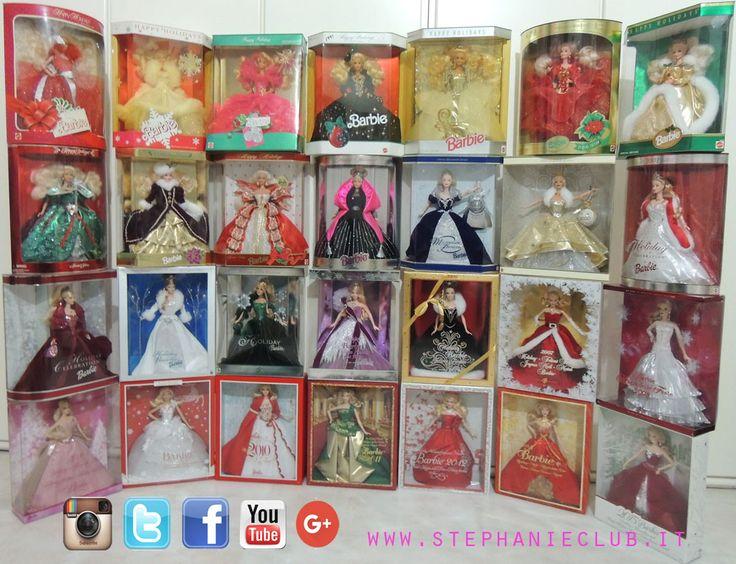 Barbie Holiday Celebration dal 1988 al 2015