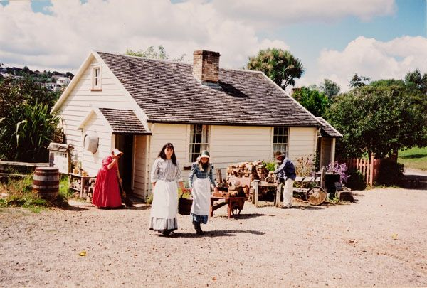 Living history, Howick Historical Village
