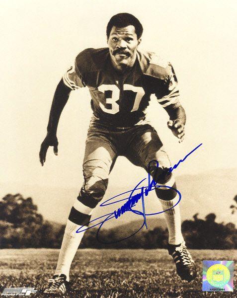 Jimmy Johnson San Francisco 49ers Autographed 8x10 Photograph