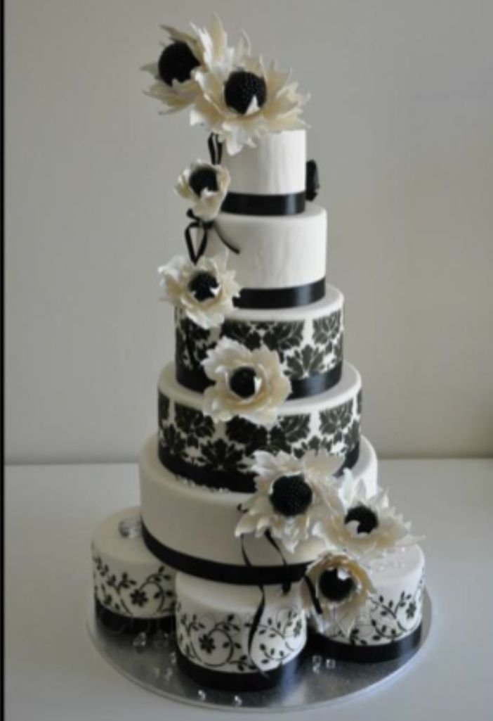 The Cake Artist Mandurah : 37 best images about Black and white on Pinterest Glass ...