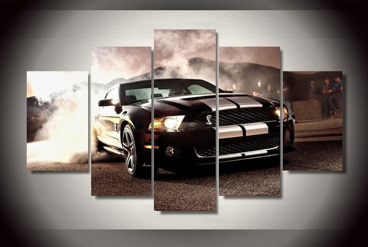 Ford Mustang Cobra Canvas Print – TC Discount Store