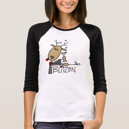 Blitzen Reindeer Christmas Tshirts and Gifts - tap to personalize and get yours
