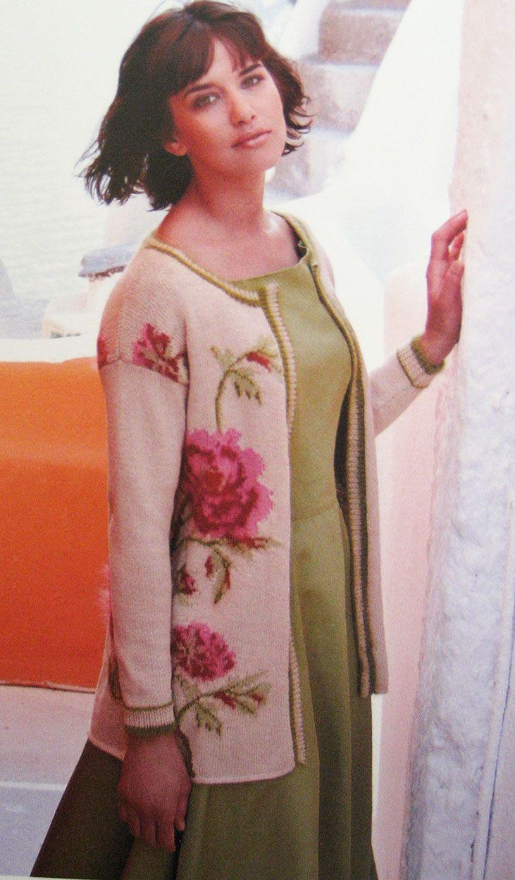 Rowan Magazine 53 (British knitting/crochet company) - Kefalonia by Marie Wallin, in Rowan Kidsilk Haze and Wool Cotton 4-ply
