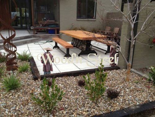 Wood' Steel Furniture, Signs, Shelters, Macrocarpa