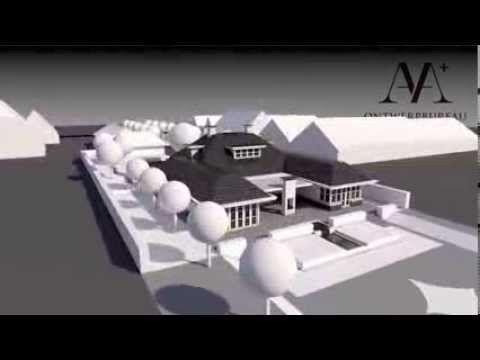 ▶ Exclusieve Villa en Tuin ; 3D animatie - YouTube