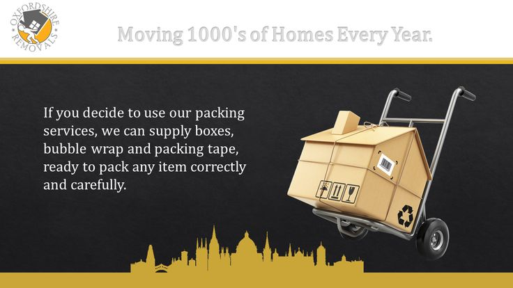 Oxfordshire-Removals Moving 1000's of Homes Every Year.