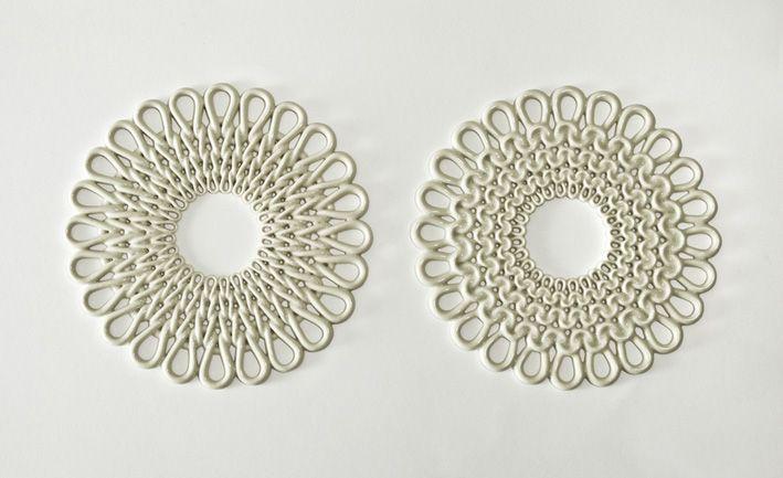 Marianne Nielsen Strik  ceramic knitting. im freaking out
