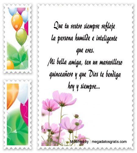 descargar frases bonitas para quinceañera,enviar mensajes para quinceañera:  http://www.datosgratis.net/palabras-para-felicitar-a-una-quinceanera/