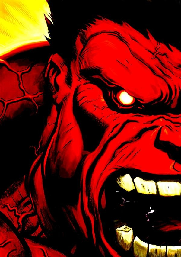 Red Hulk by Ed McGuinness
